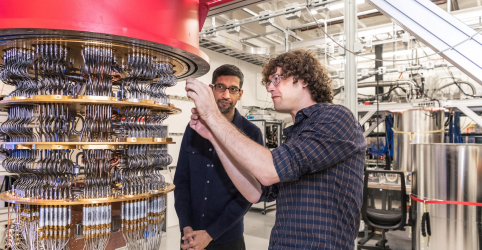 Placeholder - loading - Imagem da notícia Google proclama ter atingido 'supremacia quântica'