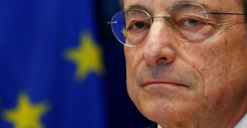 Placeholder - loading - Draghi não deve ter 'grand finale' no BCE com enfraquecimento da economia e aumento de divergências