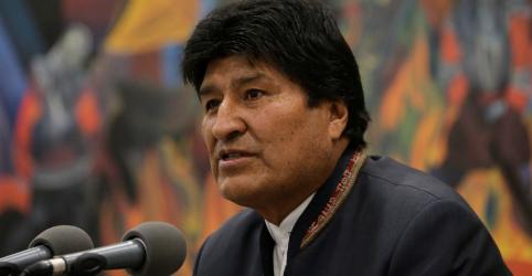 Placeholder - loading - Imagem da notícia Morales critica OEA e pede que vitória na eleição boliviana seja respeitada