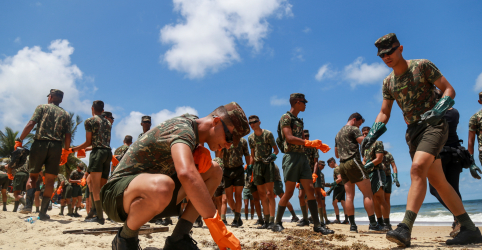 Marinha contesta estudo de universidade sobre mancha de petróleo no Nordeste