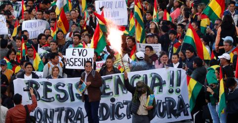 Placeholder - loading - Bolívia se divide após oposição pedir renúncia de Evo Morales e rejeitar auditoria
