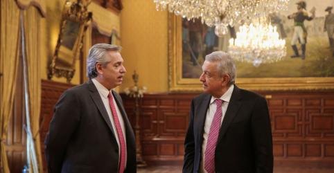 Placeholder - loading - Imagem da notícia Visita de presidente eleito da Argentina ao México aponta nova aliança da esquerda latino-americana