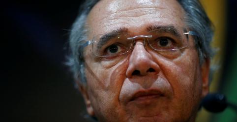 Placeholder - loading - Imagem da notícia Guedes diz que propostas econômicas foram feitas em conjunto e não vê muita mudança no Congresso