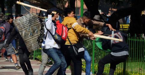 Placeholder - loading - Governo da Bolívia condena violência 'vergonhosa' em meio a troca de acusações com oposição