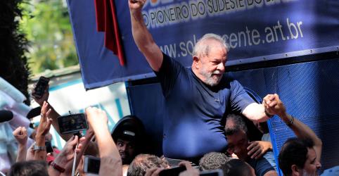 Placeholder - loading - PT espera para hoje liberdade de Lula e já discute ação política do ex-presidente