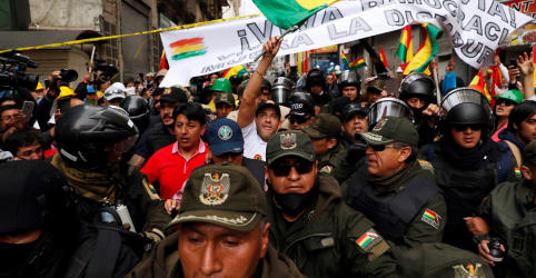 Placeholder - loading - Rússia acusa oposição da Bolívia de desencadear onda de violência