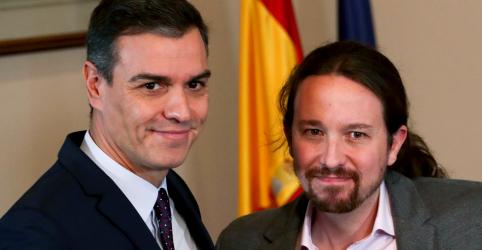 Socialistas e Podemos alcançam acordo preliminar para coalizão na Espanha