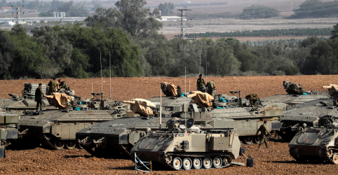 Placeholder - loading - Imagem da notícia Total de mortes em Gaza chega a 23 no segundo dia de escalada na violência