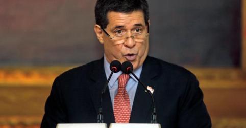 Placeholder - loading - Imagem da notícia Ex-presidente do Paraguai Cartes é alvo de mandado de prisão na Lava Jato