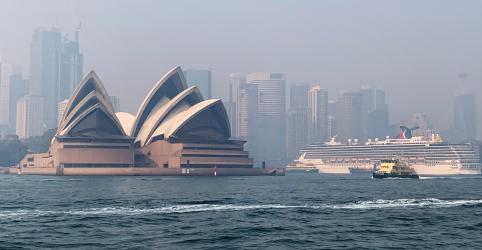 Incêndio florestal na Austrália coloca Sydney entre 10 cidades com maior poluição atmosférica