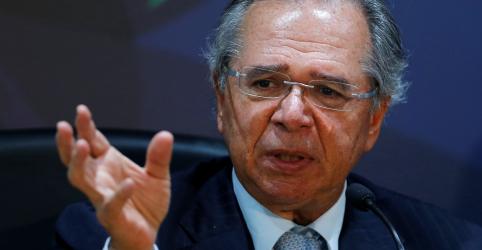 Brasil já cresce 'bem acima' de 1% na margem, diz Guedes