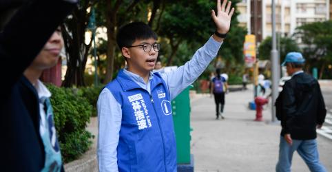 Placeholder - loading - 'Hora de acalmar': Protestos em Hong Kong reduzem antes de eleições locais
