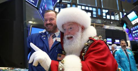 Placeholder - loading - Imagem da notícia Cenário para rali de Natal em Wall Street pode estar se formando