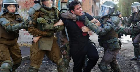 Placeholder - loading - Human Rights Watch vê 'gravíssimas' violações dos direitos humanos no Chile, diz imprensa local