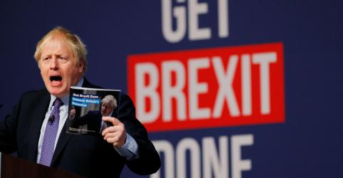 Placeholder - loading - Imagem da notícia Primeiro-ministro britânico oferece nova promessa do Brexit para o Natal