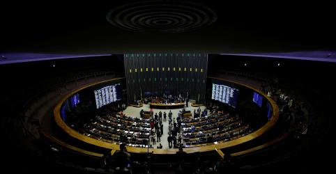 Placeholder - loading - Imagem da notícia Congresso derruba vetos à lei eleitoral, mas confusão com cédulas adia sessão