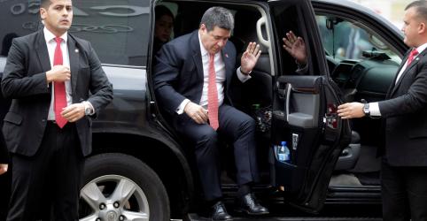 Placeholder - loading - Imagem da notícia STJ revoga ordem de prisão preventiva contra ex-presidente paraguaio Cartes