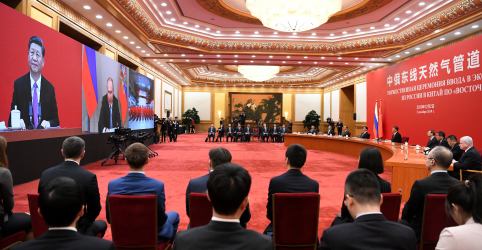 Placeholder - loading - Imagem da notícia Putin e Xi supervisionam inauguração de gasoduto russo para suprimento da China