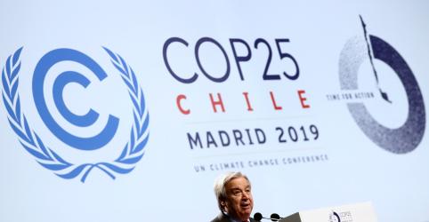 Placeholder - loading - Não percam tempo enquanto o planeta queima, diz secretário-geral da ONU em cúpula do Clima