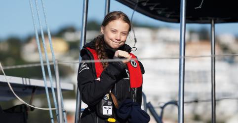 Placeholder - loading - Ativista Greta Thunberg chega a Lisboa a caminho de cúpula do clima em Madri