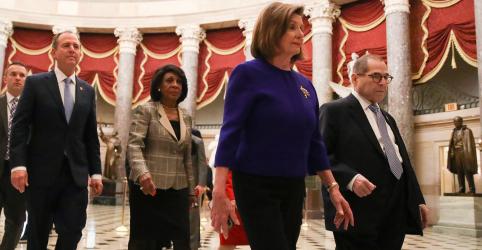 Placeholder - loading - Democratas da Câmara dos EUA devem apresentar acusações formais de impeachment de Trump