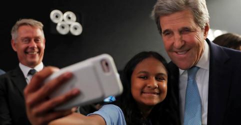 Países mais ricos precisam se comportar como adultos na luta pelo clima, diz Kerry