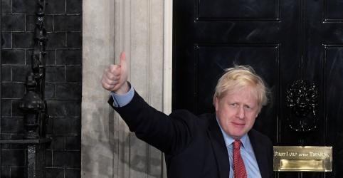Johnson quer Brexit concluído e conciliação no Reino Unido após vitória esmagadora