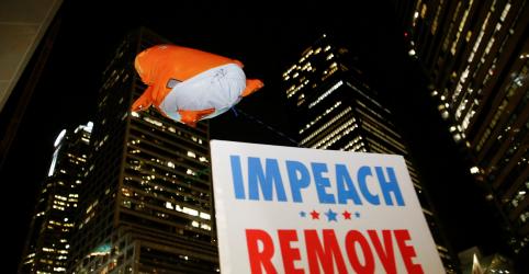 Placeholder - loading - Câmara dos EUA deve fazer história ao votar impeachment de Trump