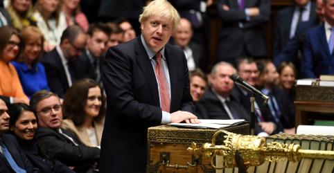 Johnson mira Brexit rápido e anuncia agenda de governo 'radical'