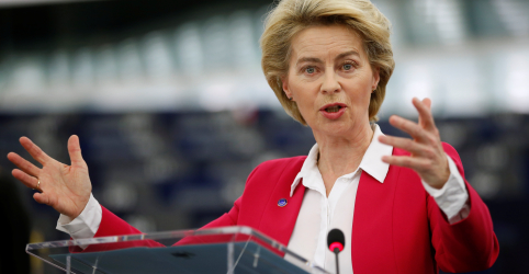 Placeholder - loading - Imagem da notícia UE pode ter que ampliar prazo para negociação comercial com Reino Unido, diz Von der Leyen