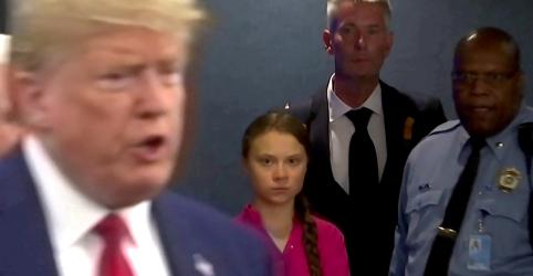 Placeholder - loading - Não teria perdido meu tempo com Trump, diz Greta Thunberg