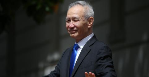 Vice-premiê da China vai aos EUA assinar fase 1 de acordo comercial, diz jornal