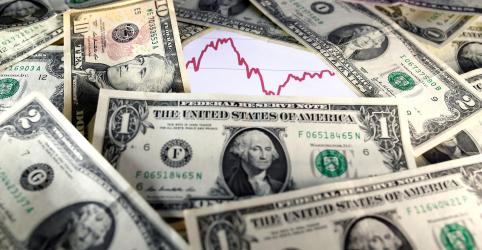 Placeholder - loading - Imagem da notícia Índice do dólar cai para mínima desde julho com otimismo sobre crescimento