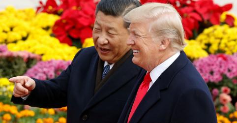 Trump diz que acordo comercial EUA-China será assinado em 15 de janeiro