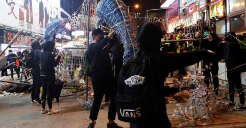 Placeholder - loading - Imagem da notícia EXCLUSIVO-Moradores de Hong Kong apoiam manifestações; minoria quer independência da China