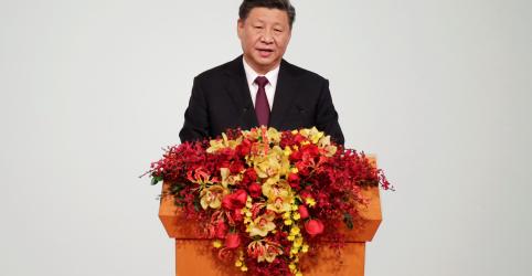 Placeholder - loading - Presidente da China diz que sinceramente espera o melhor para Hong Kong