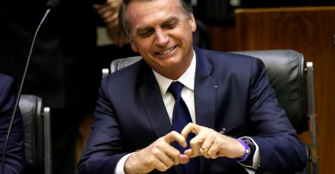 Placeholder - loading - Imagem da notícia Bolsonaro toma posse com promessas de 'reformas estruturantes' e de fortalecer democracia