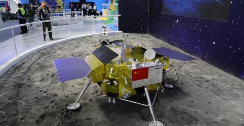 China faz história ao pousar sonda pela primeira vez do lado oculto da Lua