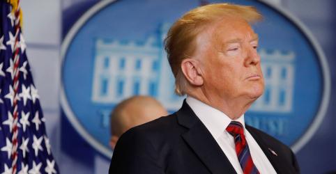 Placeholder - loading - Imagem da notícia Trump culpa democratas por turbulência do mercado acionário