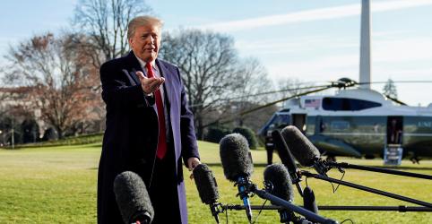 Placeholder - loading - Trump se mantém firme sobre muro na fronteira, oferece opção de construção de aço