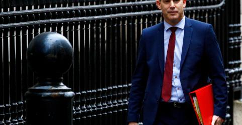 Reino Unido não pretende adiar saída da União Europeia, diz ministro do Brexit