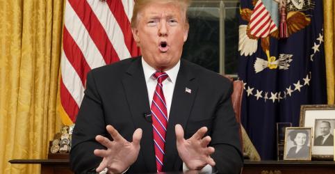 Placeholder - loading - Imagem da notícia Trump exige muro, mas não declara emergência nacional em pronunciamento