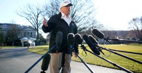 Placeholder - loading - Trump diz que deve declarar emergência se não houver acordo sobre muro na fronteira