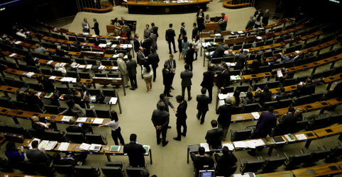 Placeholder - loading - Bolsonaro escolhe deputado de 1º mandato para líder do governo na Câmara