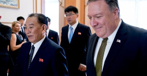 Placeholder - loading - Imagem da notícia EUA e Coreia do Norte terão reunião nesta semana em busca de acordo preliminar, diz mídia