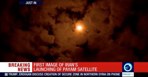Lançamento de satélite do Irã falha após alerta dos EUA
