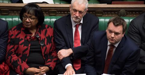Líder do Partido Trabalhista, de oposição, diz que Brexit pode ser renegociado se acordo de May for rejeitado