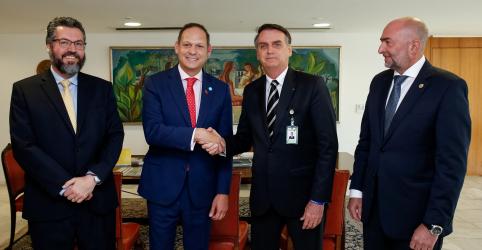 """Placeholder - loading - Bolsonaro se compromete a fazer tudo que for possível para """"restaurar democracia"""" na Venezuela"""