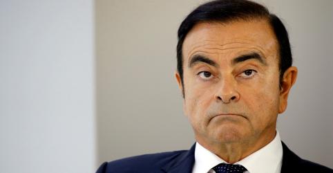 Placeholder - loading - Imagem da notícia Ghosn recebeu US$9 milhões indevidamente de joint venture Nissan-Mitsubishi, dizem montadoras