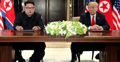 Placeholder - loading - Trump deve se reunir em breve com líder norte-coreano, diz Casa Branca